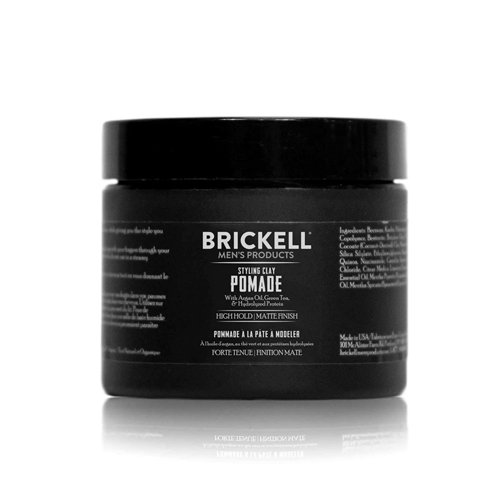 Brickell men's styling clay pomade
