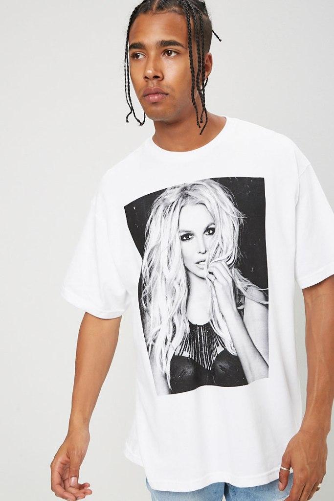 Men's Britney Spears Graphic Tee