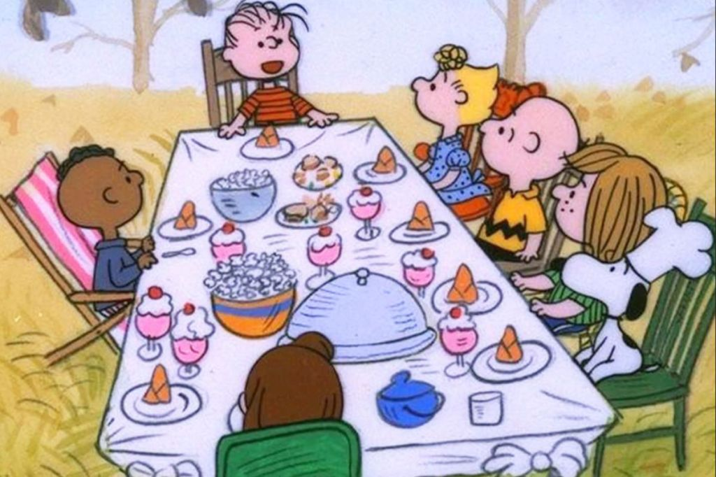 Thanksgiving movie Charlie Brown Thanksgiving