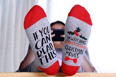 12 fun pairs of christmas socks to gift this holiday season
