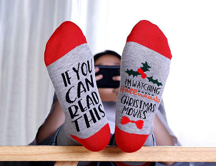 Christmas 2020 custom designed socks Christmas socks Snowman socks
