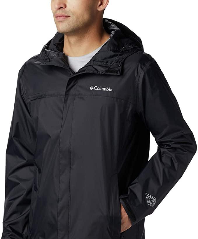 Columbia men's waterproof breathable rain jacket