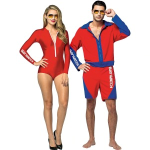 baywatch couples costume, best couples costumes