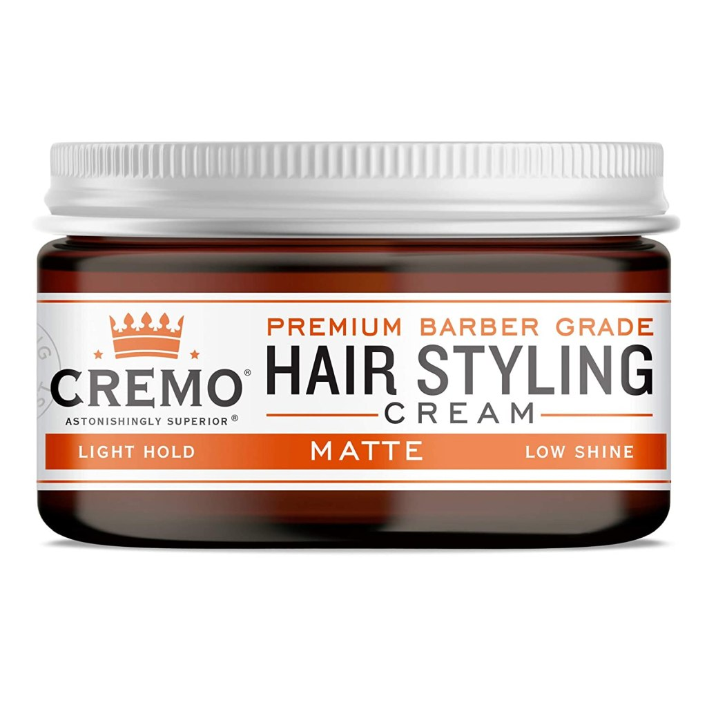 Cremo hair styling matte cream low hold, low shine