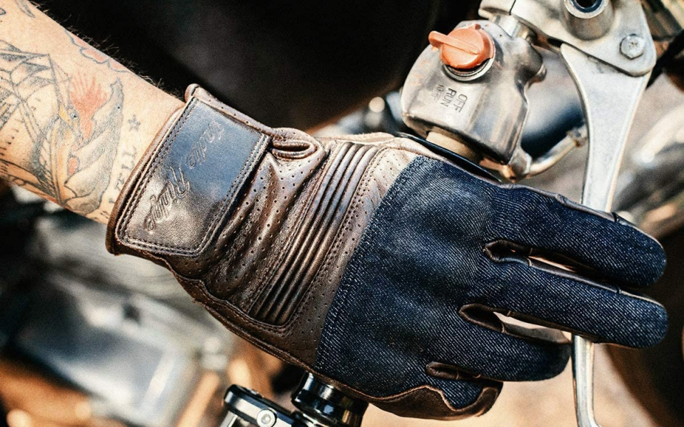 Indie Ridge Denim & Leather Motorcycle