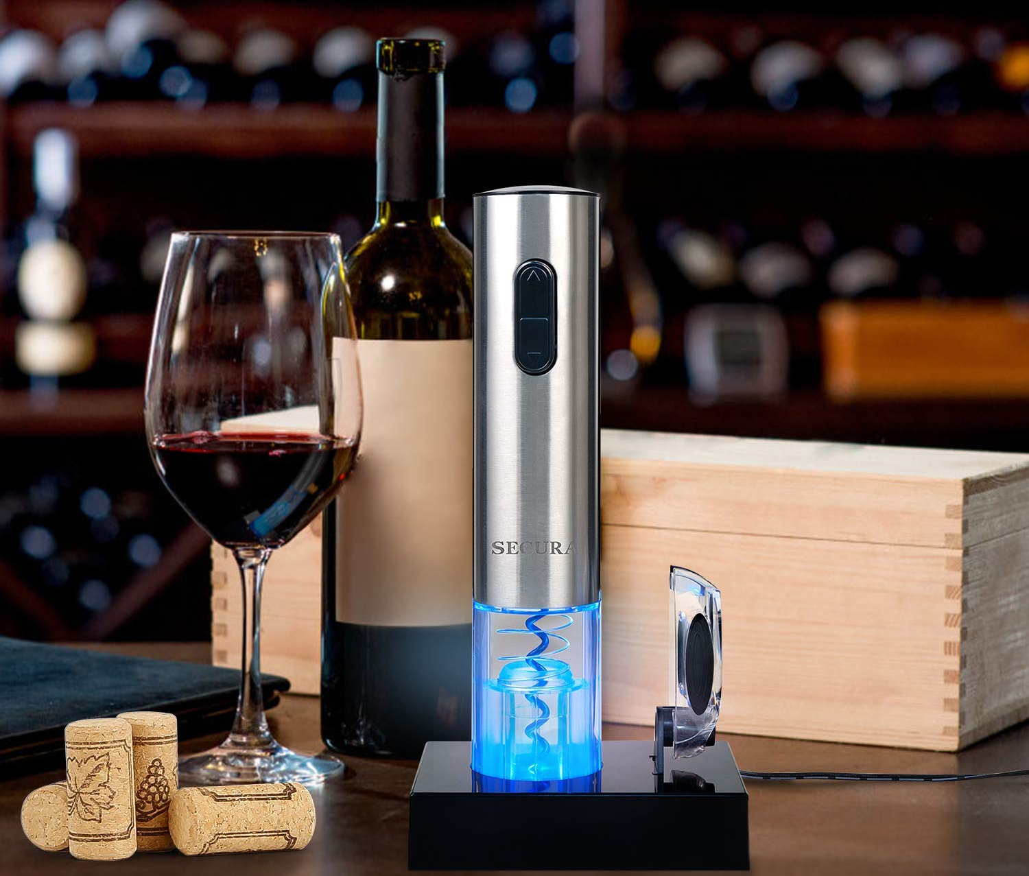 The 7 Best Electric Wine Openers For 2019 Spy
