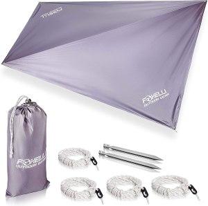 best camping tarps foxelli rain