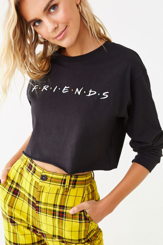 'Friends' Graphic Tee in black