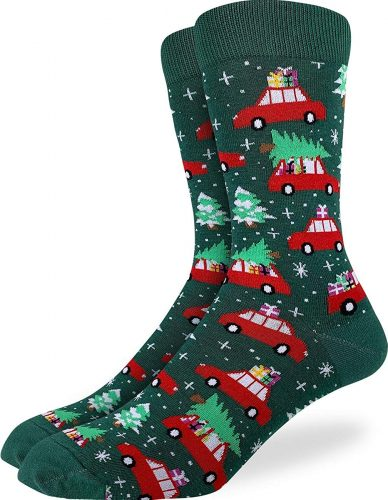 Best Christmas socks - Good Luck Sock Christmas Tree Holiday Socks