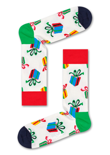 Happy Socks Presents Christmas Sock