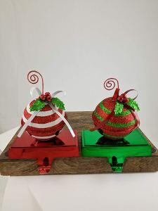 christmas stocking holder ornaments