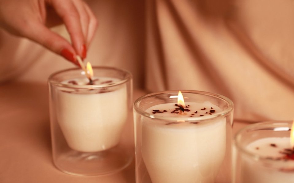 CBD-Infused Candles