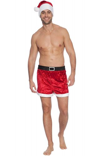 Intimo Velour Holiday Boxer Set