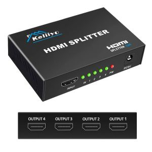 KELIIYO HDMI Splitter 1 in 4