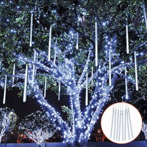 TOPIST Falling Rain Decoration Lights