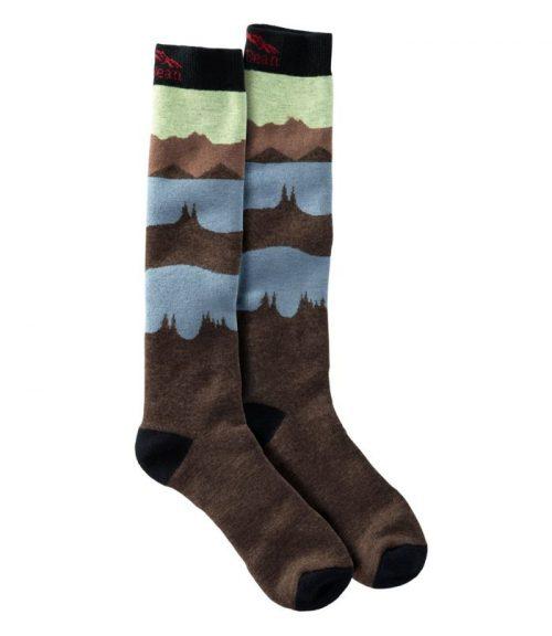 ll bean midweight alpine ski socks