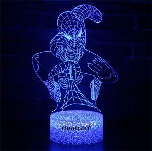 spiderman toys llamevol night light