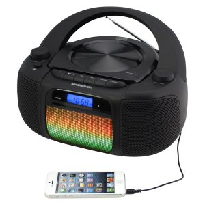 Magnavox CD Boombox with Digital AM FM Radio
