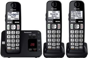 PANASONIC DECT 6.0 Expandable Cordless Phone System