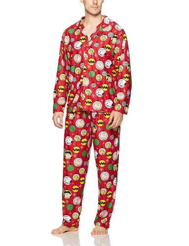 Peanuts 2-Piece Christmas Pajama Sleep Set