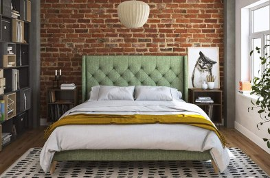 these cheap platform beds mean you can finally stop keeping your mattress on the floor