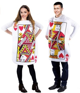 playing cards halloween costume - couples costumes