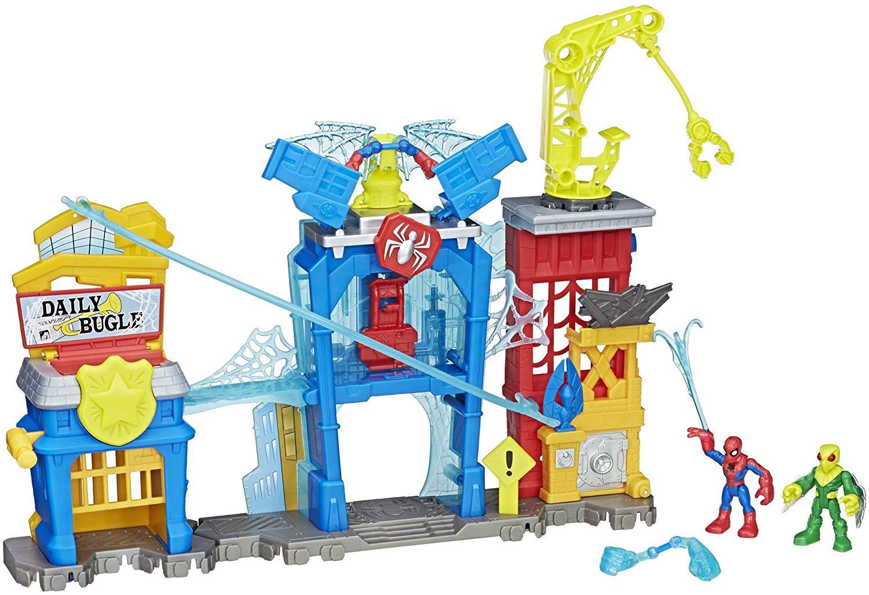 spiderman toys playskool heroes