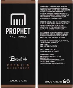 prophet tools beard growth supplement