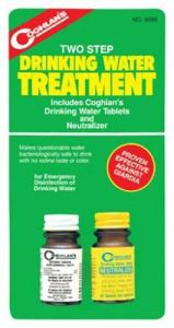 water purification tablet coghlans