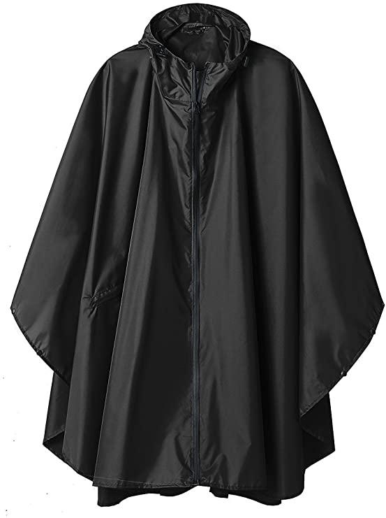 Rain poncho jacket coat