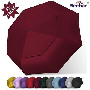 RECHAR Windproof Large Travel Umbrella
