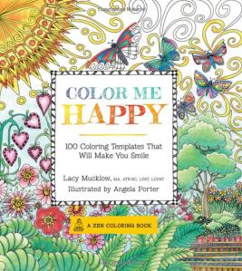 Color Me Happy coloring book
