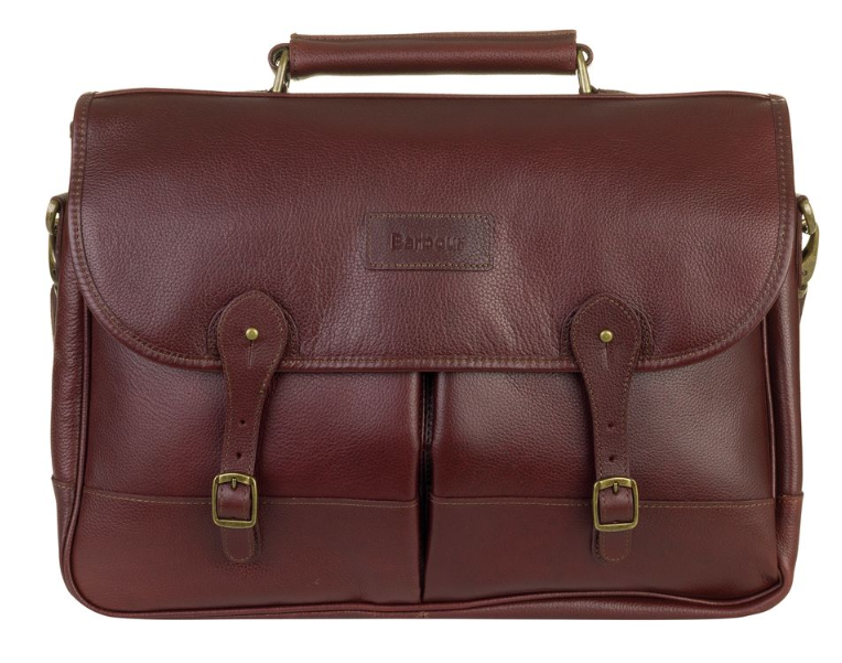 Barbour Briefcase Leather lawyer satchel