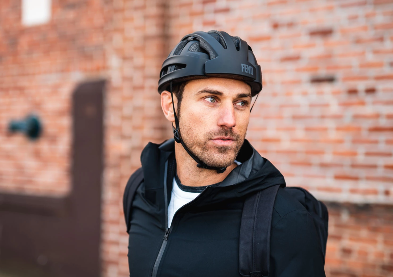 fend folding bicycle helmet