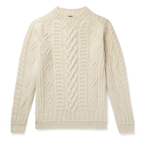 Howlin Cable Knit Jumper