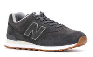 New Balance Grey 574 Sneakers