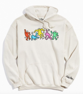 Keith Haring Hoodie Urban Outfitters