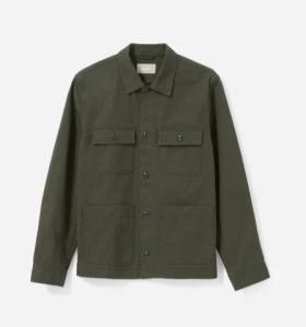 Everlane Chore Jacket Date