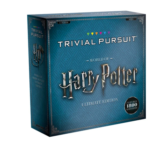 harry potter gifts trivial pursuit