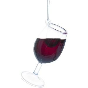 Ganz Merry Merlot Wine Glass Ornament