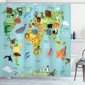 best shower curtain ambesonne