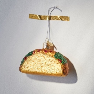 Taco Christmas Ornament