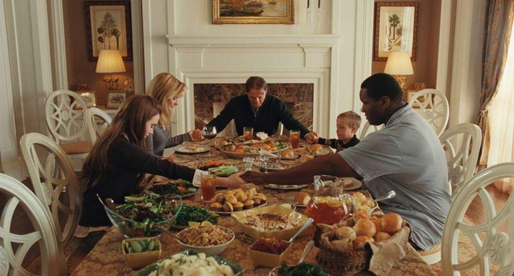 Thanksgiving movie The Blind Side