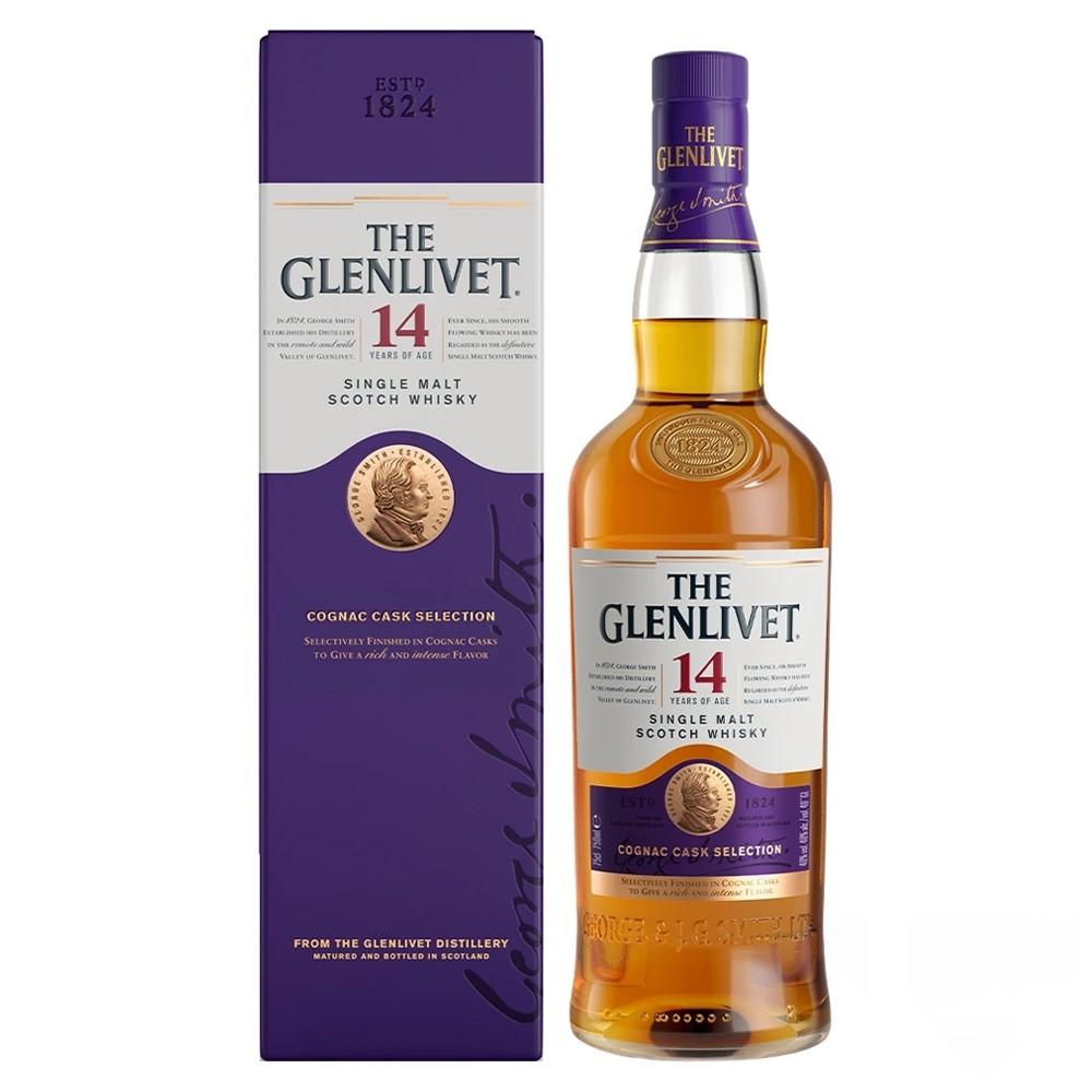 The Glenlivet 14 Single Malt Whisky Cognac Cask Selection - Best Christmas Gifts of 2019