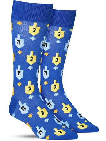 The Sock Drawer Dreidel Men's Socks