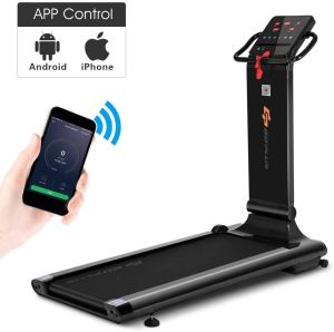 foldable treadmill goplus