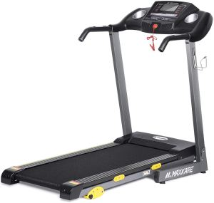 foldable treadmill maxkare