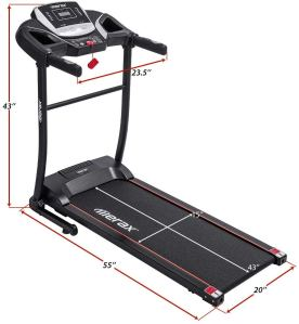 foldable treadmill merax