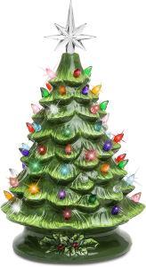 tabletop christmas tree best choice cearmic