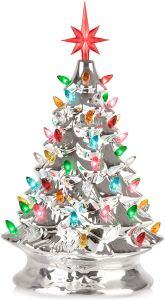 tabletop christmas tree rj legend ceramic